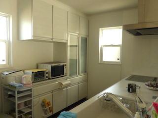 シンプルで掃除し易い家の写真