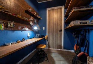 空間のつながりを大切にした のびのび暮らせる家の写真